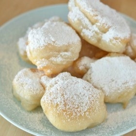 Homemade Fried Dough Zeppoles Recipe Without Ricotta