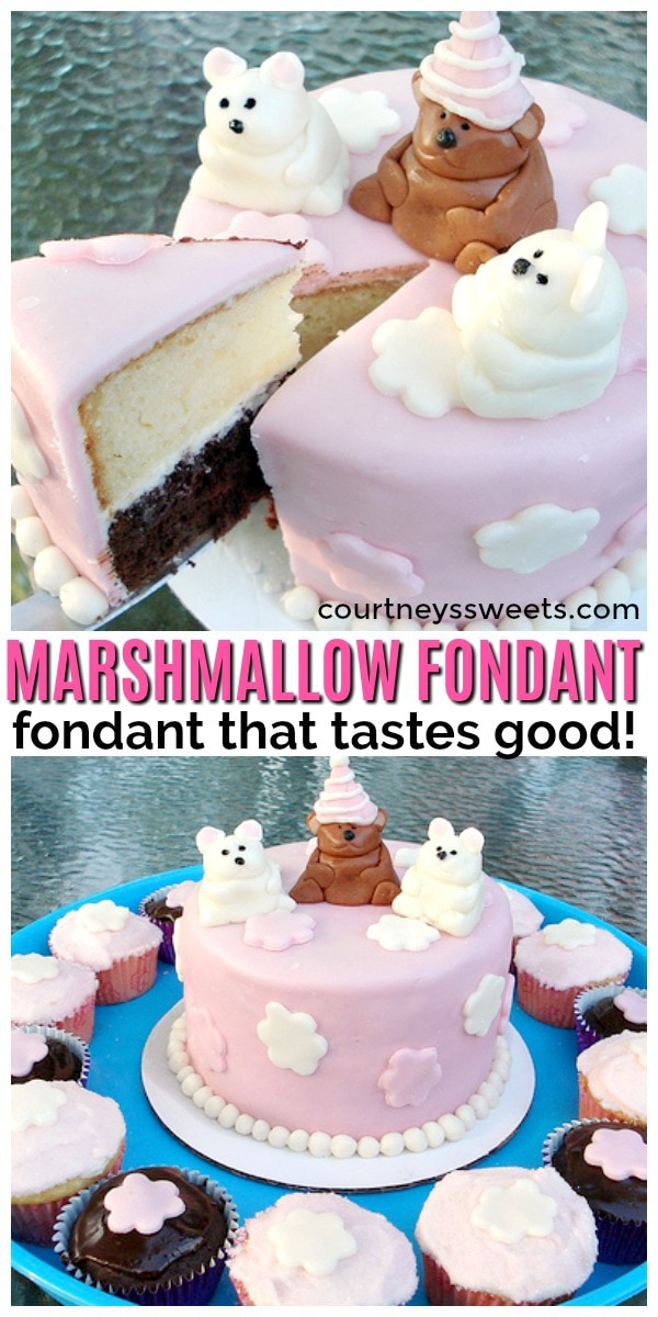 Marshmallow Fondant - Courtney's Sweets