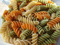 Tri Color Pasta