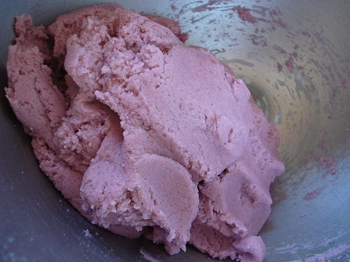 Raspberry Truffle Cookies