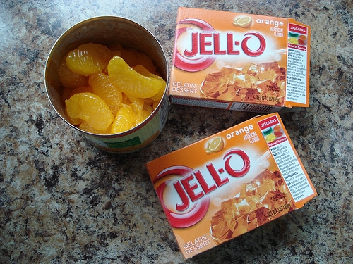 Mandarin Orange Jello