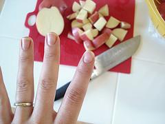 Potato Salad with Egg -Finger update