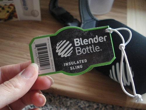 Blender Bottle & Insulated Sling Review