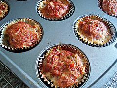 Halloween Meatloaf Cupcakes