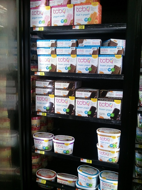 New Frozen Yogurt! #TCBYGrocery