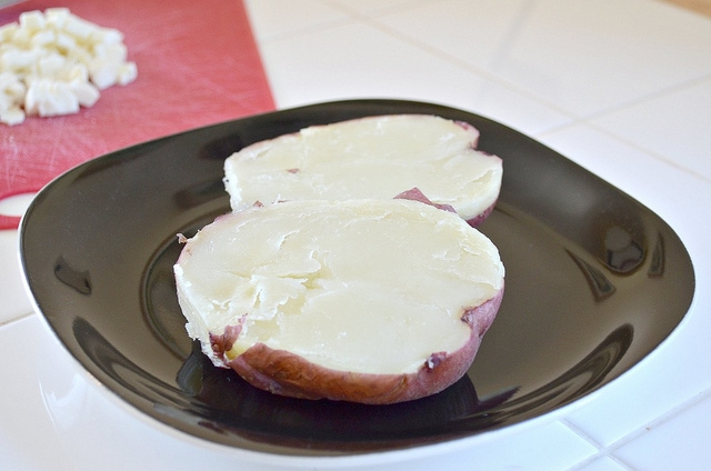 Mozzarella Baked Potato
