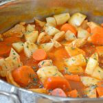 Hearty Chicken Stew | One Pot Meal