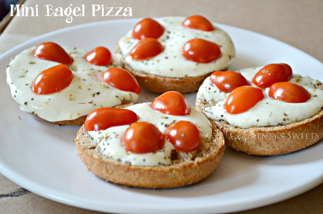 Mini Bagel Pizza