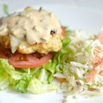 Chicken Burgers with Almost Big Mac Sauce – Cooking like my Grandma