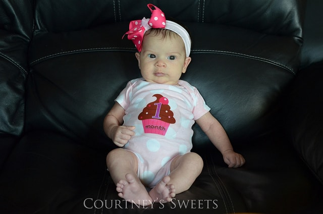 Sweet Baby 1 Month Old