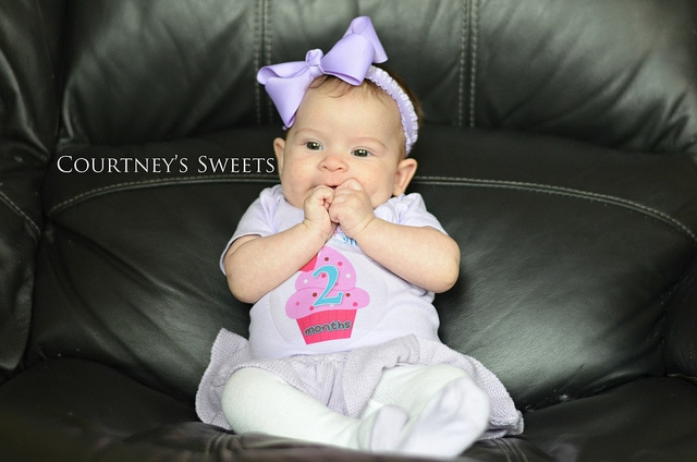 Sweet Baby 2 Months Old