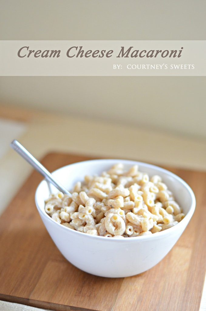 Cream Cheese Macaroni