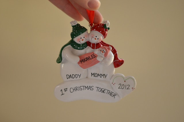 Ornaments with Love - Our First Christmas Together - Review ...