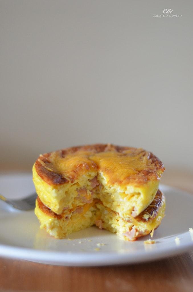 Mini Ham and Cheese Quiche Recipe