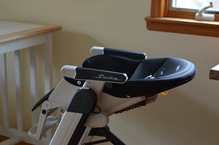 Peg Perego Siesta Highchair Review & Giveaway Courtney