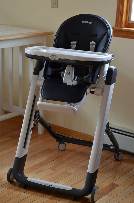 Peg perego siesta highchair review courtney 39 s sweets for Chaise haute peg perego