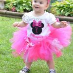Minnie Mouse Birthday Tutu Set