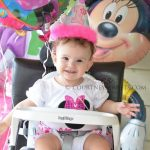 Sweet Baby's 1st Birthday Party – Minnie Mouse & Party City