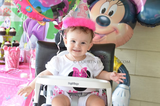 Baby Minnie Mouse Birthday Party