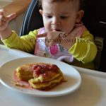 Sweet Baby's First Pancakes!