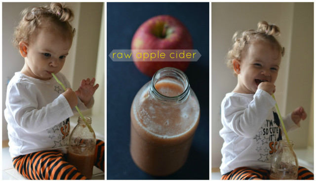 Raw Apple Cider Recipe - Make it at home without a juicer!