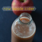 raw apple cider