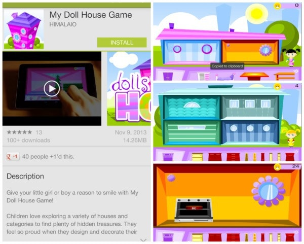 doll house app