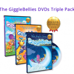 The GiggleBellies™ Musical Adventures  DVD Triple Pack