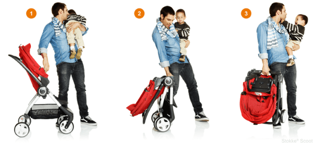 stokke scoot folding