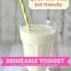 homemade drinkable yogurt recipe