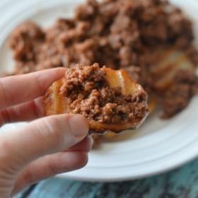 sloppy joe potato bites