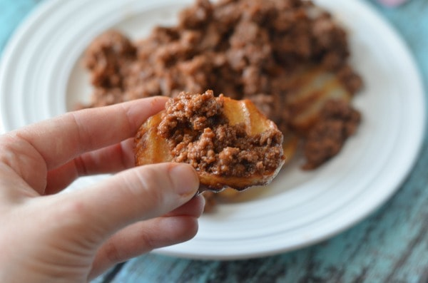 sloppy joe potato bites