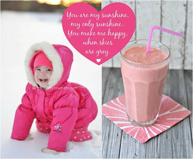 you are my sunshine smoothie