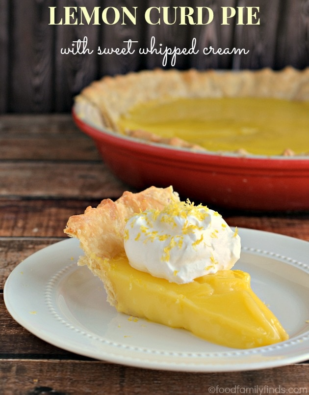 lemon curd pie by food family finds