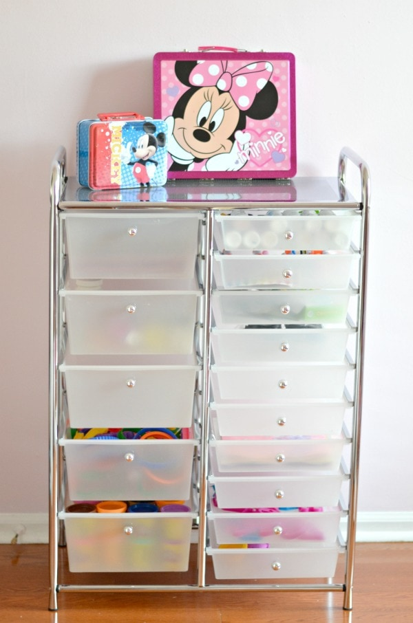 Ecr4kids 15 Drawer Mobile Organizer Courtney S Sweets