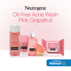 pink grapefruit acne wash