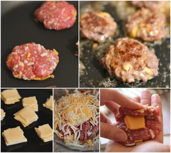 how to make a cheesefilled cheese burger #SayCheeseburger #shop