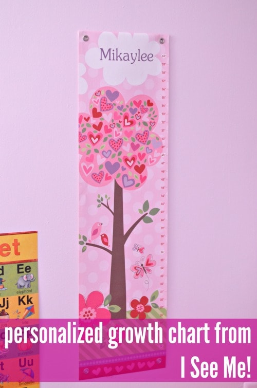 i see me personalized growth chart