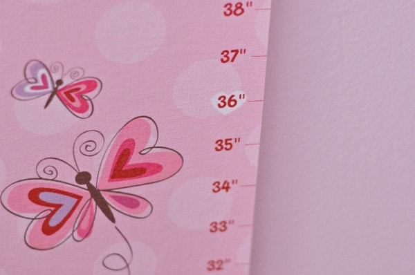 personalized growth chart - i see me!