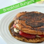 strawberry banana french toast breakfast burgers recipe