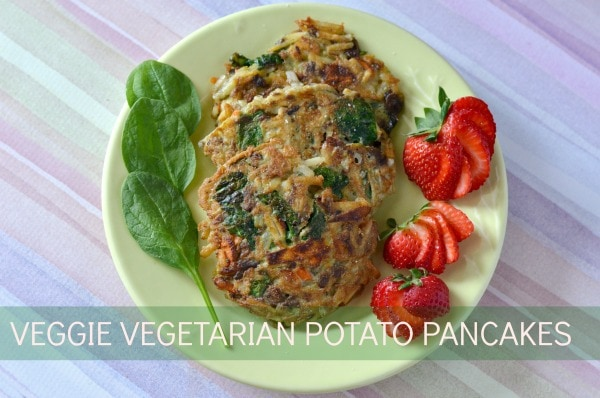 veggie vegetarian potato pancakes  #OreIdaHashbrown  #shop
