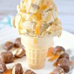 banana ice cream recipe with twix bites #eatmorebites #shop