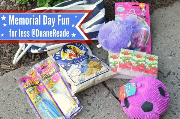 memorial day fun at duane reade #drmemorialday #shop