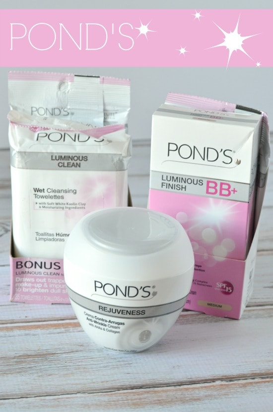 Why i only go to bed with a clean face ponds towelettes for Ponds products