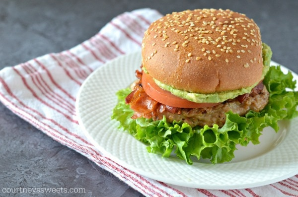 Grilled Chicken BLT Burgers
