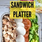 sandwich platter #SummerofGiving #ad #shop