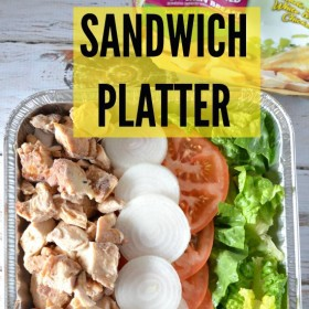 sandwich platter #SummerofGiving #ad #shop