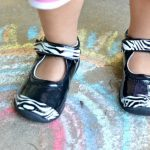 DIY Crafts | Easy Zebra Print Baby Shoes using Duct Tape