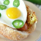 Jalapeno Sausage Breakfast Sandwich Sausage Recipes #StartYourGrill #shop