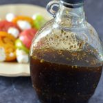 Homemade Italian Balsamic Vinaigrette with Heirloom Tomato Salad #SpiceUpYourLife